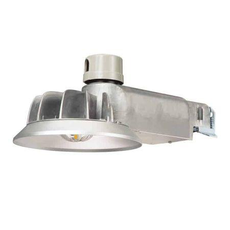 Lumark Caretaker Dusk to Dawn Hardwired LED Silver Area Light