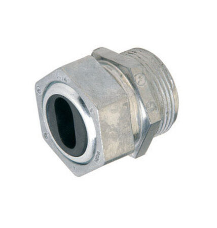Gampak Sigma Watertight Cable Connector Silver 2 in. Dia. 1