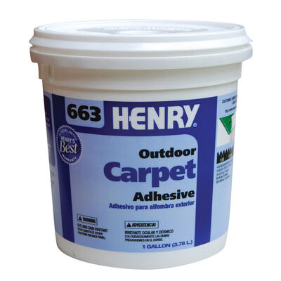Henry 663 Outdoor Carpet Adhesive 1 gal.