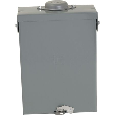 Square D Homeline 100 amps 6 space 12 circuits 120/240 volts Plug-In Main Lug Main Lug Load Cent