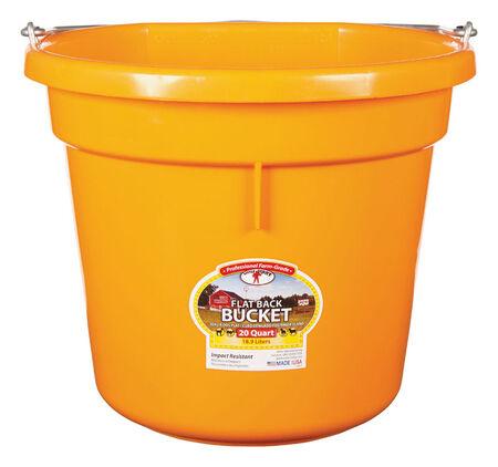 Little Giant 20 qt. Bucket Orange