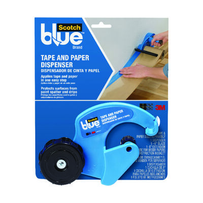 3M Tape and Paper Dispenser Blue 1 pk