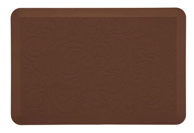Comfort Co. Brown Nonslip Anti Fatigue Mat 30 in. L x 20 in. W