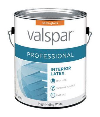 Valspar Contractor Professional Interior Acrylic Latex Paint High Hiding White 1 gal.