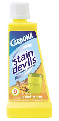 Carbona Stain Devils Rust and Perspiration Stain Remover