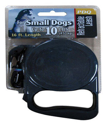PDQ Retractable Dog Leash 16 ft. L For Up to 10 Pounds