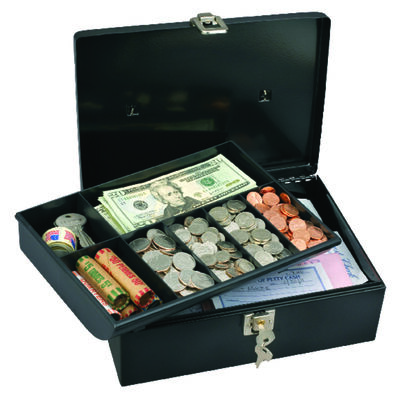 Master Lock Steel Keyed Cash Box
