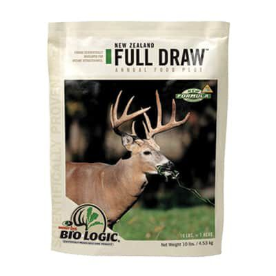 10 lb New Zealand Full draw annual food plot seed - 1 acre