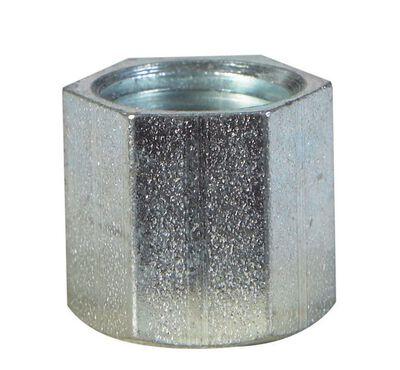 Billco 1/8 in. Dia. FPT Galvanized Galvanized Steel Cap