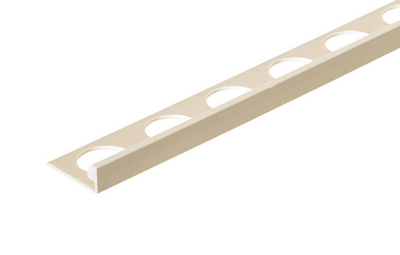 Sand Stone 3/8 in. X 98.5 in. PVC L-Shaped Tile Edging Trim
