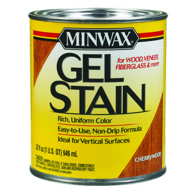 Minwax Transparent Oil-Based Gel Stain Cherrywood 1 qt.