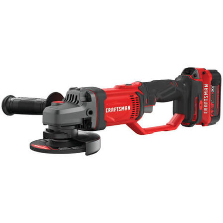 CRAFTSMAN V20* CORDLESS 4-1/2-IN. SMALL ANGLE GRINDER KIT (1 BATTERY)