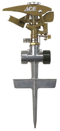 Ace Metal Spike Impulse Sprinkler 5800 sq. ft.