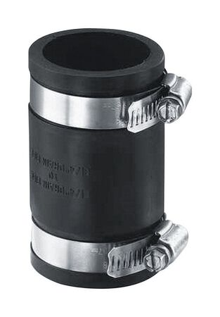 Fernco Schedule 40 2 in. 2 in. Dia. Flexible PVC Coupling