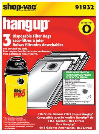 Shop-Vac HangUp Vac Bag 5 3 pk