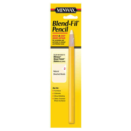 Minwax Blend-Fil No. 2 Natural Bleached Wood Pencil 1 oz.