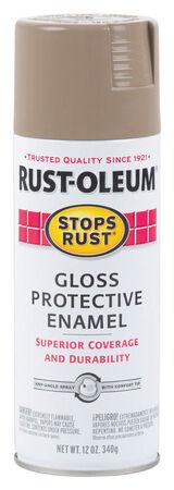 Rust-Oleum Protective Enamel Cambridge Stone Gloss Spray Paint 12 oz.