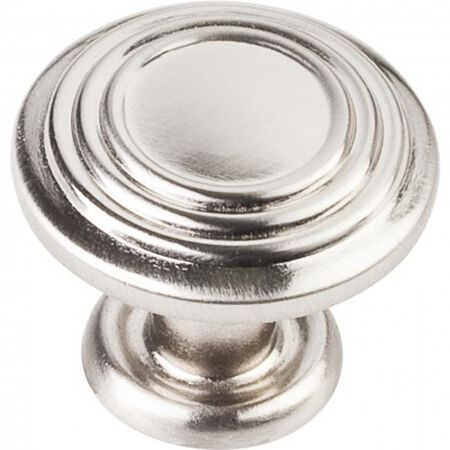 "1-1/4"" Diameter Spiral Cabinet Knob Satin Nickel"