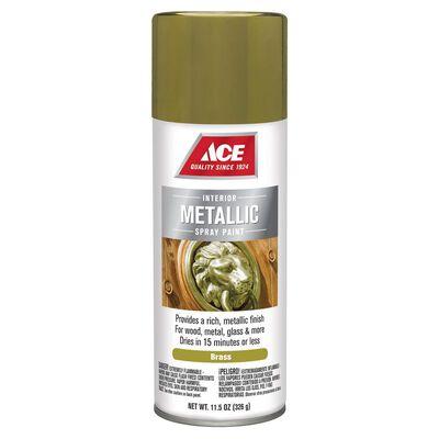 Ace Brass Metallic Spray Paint 11.5 oz.