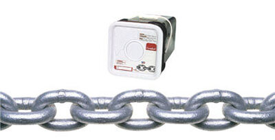 Campbell Chain Oval Link Proof Coil Chain 150 ft. L x 3/16 in. Dia. Silver Galvanized