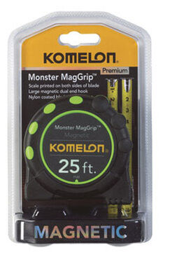 Komelon Tape Measure 1 in. W x 25 ft. L