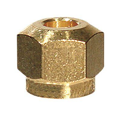 Ace 1/4 in. Dia. x 1/4 in. Dia. Steel Lead-Free Control Nut