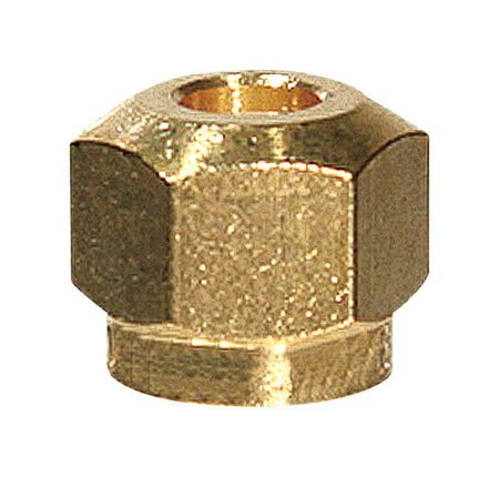 Ace 1/4 in. Dia. x 1/4 in. Dia. Steel Lead-Free Control Nut