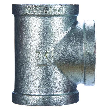 B & K 1 in. Dia. x 1 in. Dia. x 1 in. Dia. FPT To FPT To FPT Galvanized Malleable Iron Tee