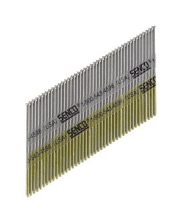 Senco 1-1/4 in. L 15 Ga. Bright Angled Finish Nails 4 000 box