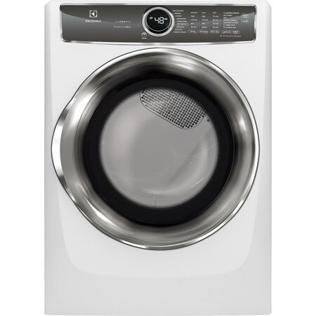 Dryer Ele 8CuFt Elec Stm Wht
