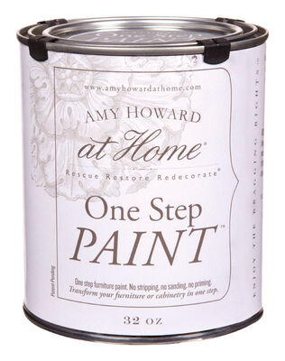 Amy Howard at Home Interior Latex One Step Paint Bauhaus Flat Chalky Finish 32 oz.