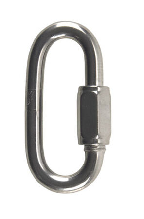 Campbell Chain Polished Stainless Steel Quick Link Silver 1540 lb. 3 in. L 1 pk