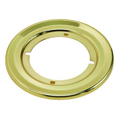 Kwikset Polished Brass Rosette Rounds 1 pk Left Handed Right Handed