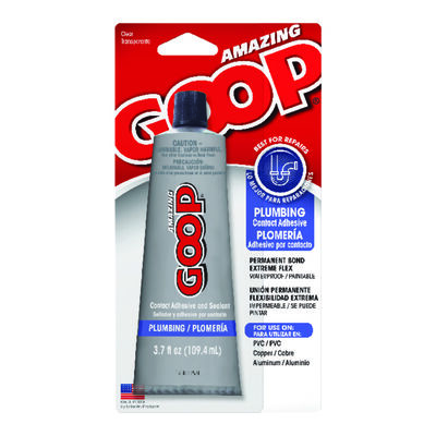 Amazing Goop Clear PVC Adhesive and Sealant 3.7 oz.