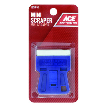 Ace Steel Glass Scraper