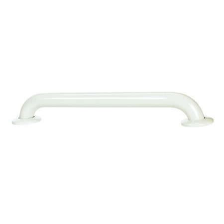 Delta White Stainless Steel Grab Bar 18 in. L