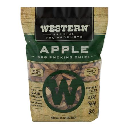 Western Apple Wood Smoking Chips 2 lb.