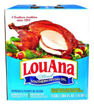 LouAna Peanut Frying Oil 384 oz. Boxed