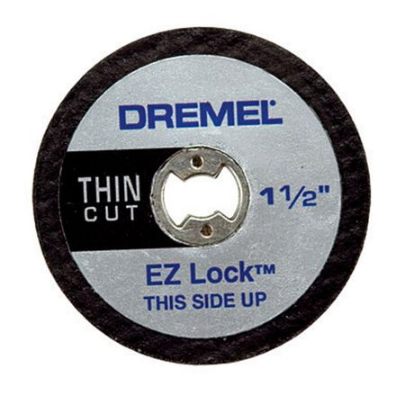 Dremel EZ Lock 1-1/2 in. Dia. x .02 in. thick Metal Cut-Off Wheel