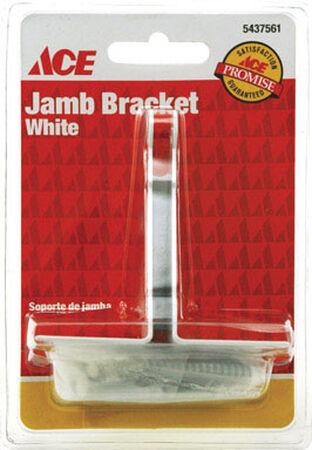Ace White Jamb Bracket 1 pc.
