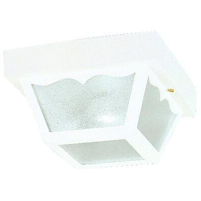 Westinghouse 1 lights White Outdoor Ceiling Fixture