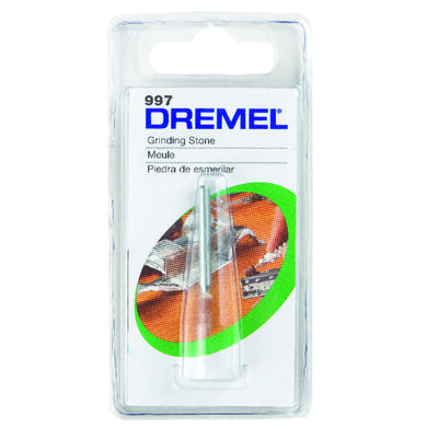 Dremel 1/8 in. Dia. Aluminum Oxide Cone Aluminum Oxide Grinding Stone