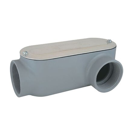 Sigma 1/2 in. Dia. x 4-7/16 L Die-Cast Aluminum Conduit Body