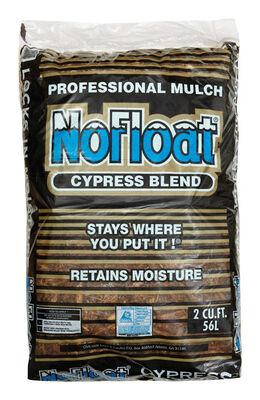 No Float Cypress Blend Mulch Earthtone 2 Cu Ft 12 Sq Ft
