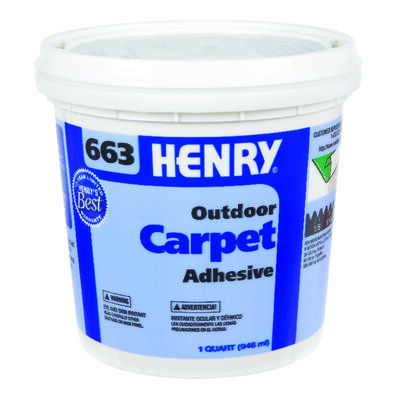 Henry 663 Outdoor Carpet Adhesive 1 qt.