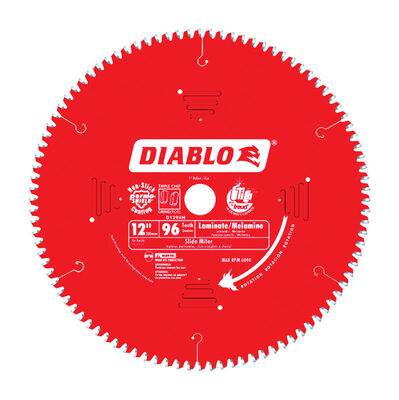 Freud Diablo 12 in. Dia. 96 teeth Carbide Tip Circular Saw Blade For Non-Ferrous and Plastics