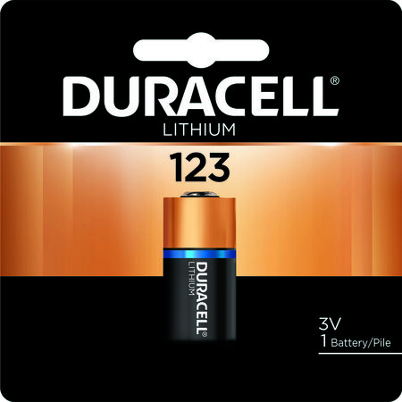 Duracell Lithium 123 3 volts Camera Battery DL123ABPK
