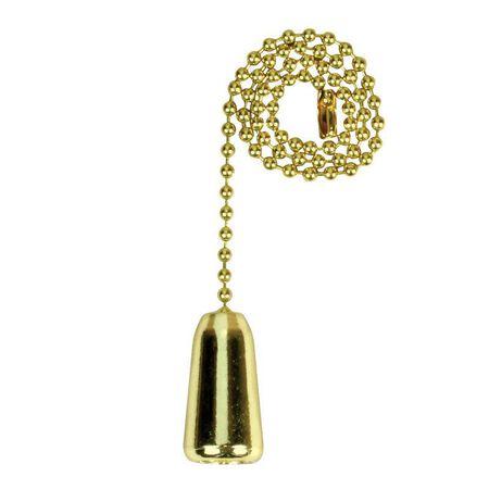Jandorf Pull Chain Brass 1 ft. L 1 pk