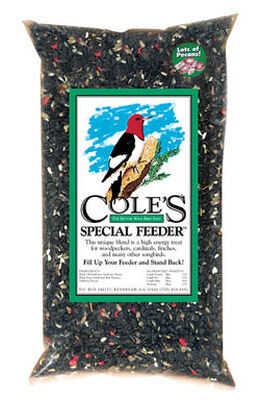 Cole's Special Feeder Assorted Species Wild Bird Food Sunflower Seeds 20 lb.