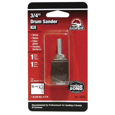 Gator Grit 0.8 in. Dia. x 0.3 in. Dia. 50 Grit Drum Sanders Kit Aluminum Oxide